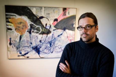 Jonas Holmström, född 1964, är både konstnär och filmare