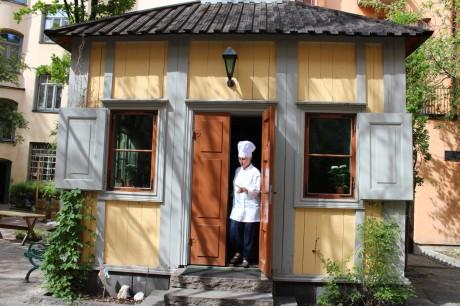 """Från """"En måltid i Swedenborgs lusthus""""  © antoniefrank"""